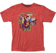 Frank Zappa-Ruben & the Jets-X-Large Heather Redl Fitted  T-shirt