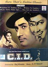 C.I.D. / CID - Dev Anand, Waheeda Rehman - Official Bollywood Movie DVD ALL/0