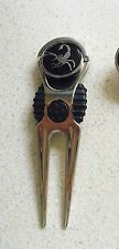 1  only SCORPION GOLF BALL MARKERS WITH NICE  DIVOT TOOL