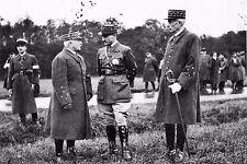 WW2 - Les Généraux Réquin, Prételat et Condé  en 1940