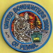 Pa Pennsylvania Fish Game Commission Related 2008 Coyote United Bowhunters Patch