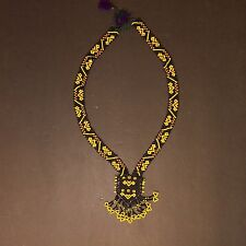 KUCHI Tribe BellyDance ATS Central Asia Beaded NECKLACE 809u7