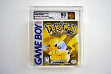 Pokemon Yellow Version Nintendo Game Boy Brand New & Factory Sealed VGA 90