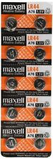 10 NEW LR44 MAXELL BATTERIES A76 L1154 AG13 357 SR44 303 BATTERY SHIPS FROM USA
