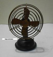 "Vintage Nautical Working Table Fan Collectible in Antique Brass 6"" Antique Fan."