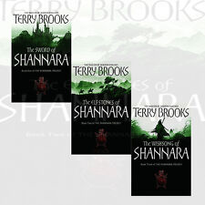 Shannara Chronicles Collection Terry Brooks 3 Books Set Sword Of Shannara Newpac