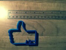 Facebook Like - Facebook Thumbs up hand cookie cutter