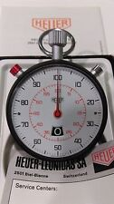 CRONOMETRO HEUER RATTRAPANTE STOPWATCH STOPPUHR BOX CHRONOMETER RALLY TIMER 12hs