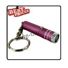 Rose Mini 1 poche lampe de poche LED Lampe torche avec porte-clés + Batteries