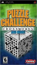 Puzzle Challenge Crosswords and More (PSP) PEGI: Universal - New Factory Sealed