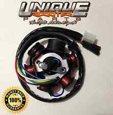 Scooter GY6 150cc High Quality 6 Pole Magneto Stator. AC POWERED