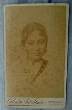 BLACK & WHITE CLASSIC ORIGINAL PHOTOGRAPH OF YOUNG INDIAN GIRL VINTAGE OLD ART