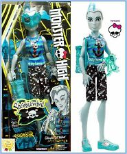 Monster High Shriekwrecked Gil Webber Shriek Mates NEW Fintastic Pirate Boy Doll
