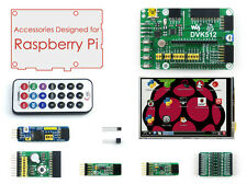 Raspberry Pi Accessory Pack A for 1A+/B+ 2B/3B with DVK512 + 3.5'' LCD + Modules