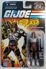 "ZARTAN -NO STICKER- G.I. Joe 25th Anniversary 4"" inch Action Figure 2007"