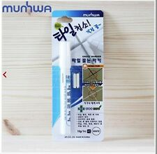 Tile Grout Coating Marker White Repair Pen 2 Extra Nips Made In Korea Non Toxic