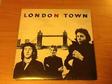 LP WINGS LONDON TOWN PARLOPHONE 3C 064-60521 EX-/VG  ITALY PS 1978  PV