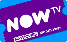 NOW TV SKY MOVIES 2 MONTH PASS RRP £20