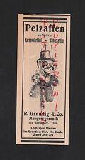 Mengersgereuth, publicidad 1931, r. Grundig & co. peludo carnaval-broma-artículo