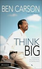 THINK BIG Unleashing Your Potential for Excellence Ben Carson NEW book success