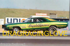"""Nelson Carter """"Imperial Kustoms"""" 69 Dodge Charger NITRO Funny Car PHOTO!"""