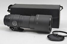 EXC+++ SIGMA MF 400mm f5.6 APO IF TELEPHOTO LENS, NIKON AI-S MOUNT, CASE +UV