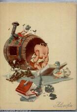 BIOLETTO Bambini Universitari Filosofia PC Circa 1940