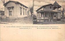 A89/ Pennington New Jersey NJ Postcard c1910 Alpha Omega Society Seminary 2View