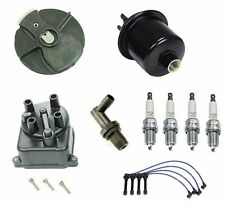 Tune Up Kit Gas Filter, NGK Wires & Plugs, Cap,Rotor For: Honda Civic 1.6L 96-00