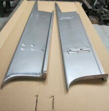 "new 1938 Chevrolet 2"" Wider Car Smooth Steel 16g Running Boards all Models"