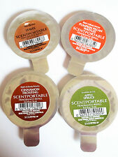 Bath Body Works Scentportable Refills, HOLIDAY VARIETY, NEW, x 4