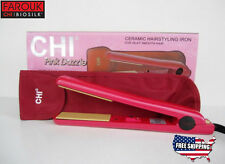 "NEW CHI Pro 1"" Ceramic Flat Iron Hair Straightener Dazzle Pink Professional Iron"