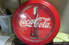 1994 Red Battery Operated Coca Cola Clock