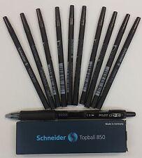 Pilot G2 Rollerball Pen Black + Schneider 10pc 850 Rollerball Refill Black 0.5MM
