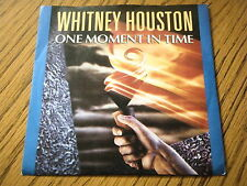 "WHITNEY HOUSTON - ONE MOMENT IN TIME  7"" VINYL PS"
