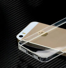 Ultra Thin Clear Transparent Soft TPU Gel Skin Back Case Cover For iPhone 4/4S