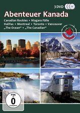 3 DVDs * ABENTEUER KANADA - Canadian Rockies - Niagara Fälle # NEU OVP ~