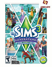 The SIMS 3 Generations DLC ORIGIN KEY pc codice download SPEDIZIONE LAMPO