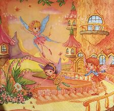 20 paper napkins Servietten decoupage collection craft Party Baby Girl Fairy Fay