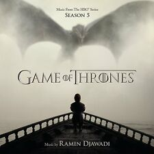LE TRONE DE FER SAISON 5 (GAME OF THRONES) MUSIQUE SERIE TV - RAMIN DJAWADI (CD)