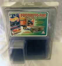 Protecto-Pak Hot Wheels Matchbox J Lighting Display Protect Pack BNIP 12 Cases