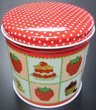 1980 STRAWBERRY SHORTCAKE SMALL TIN W/HUCKLEBERRY PIE AMERICAN GREETINGS