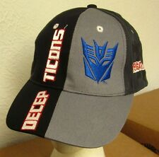 TRANSFORMERS baseball hat Decepticons alien robots cap Megatron bad guys