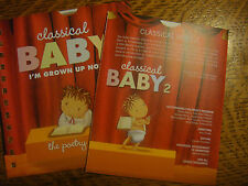CLASSICAL BABY 2 EMMY DVD BACH TCHAIKOVSKY MARTHA GRAHAM HBO + THE POETRY SHOW