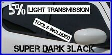 Super Sombre Noir 5% Léger Transmission Film Solaire Fenêtre Voiture 3m X 75cm