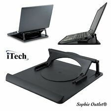 Laptop Notebook Stand Adjustable 360� Swivel Base Desk Table Cooling Tray Holder