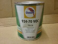 Glasurit 934-70   2K Plastic Primer Filler     1 litre  BASF  Flexible Surfacer