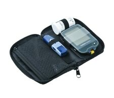 Carry Case For Diabetic Meter & Accessories - Black - With Zip - New -RRP £29.99