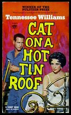 Tennessee Williams - Cat on a Hot Tin Roof - PB 1958 - Liz Taylor- Paul Newman