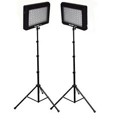 Bescor LED95DK2 190w Portable Studio Light Kit